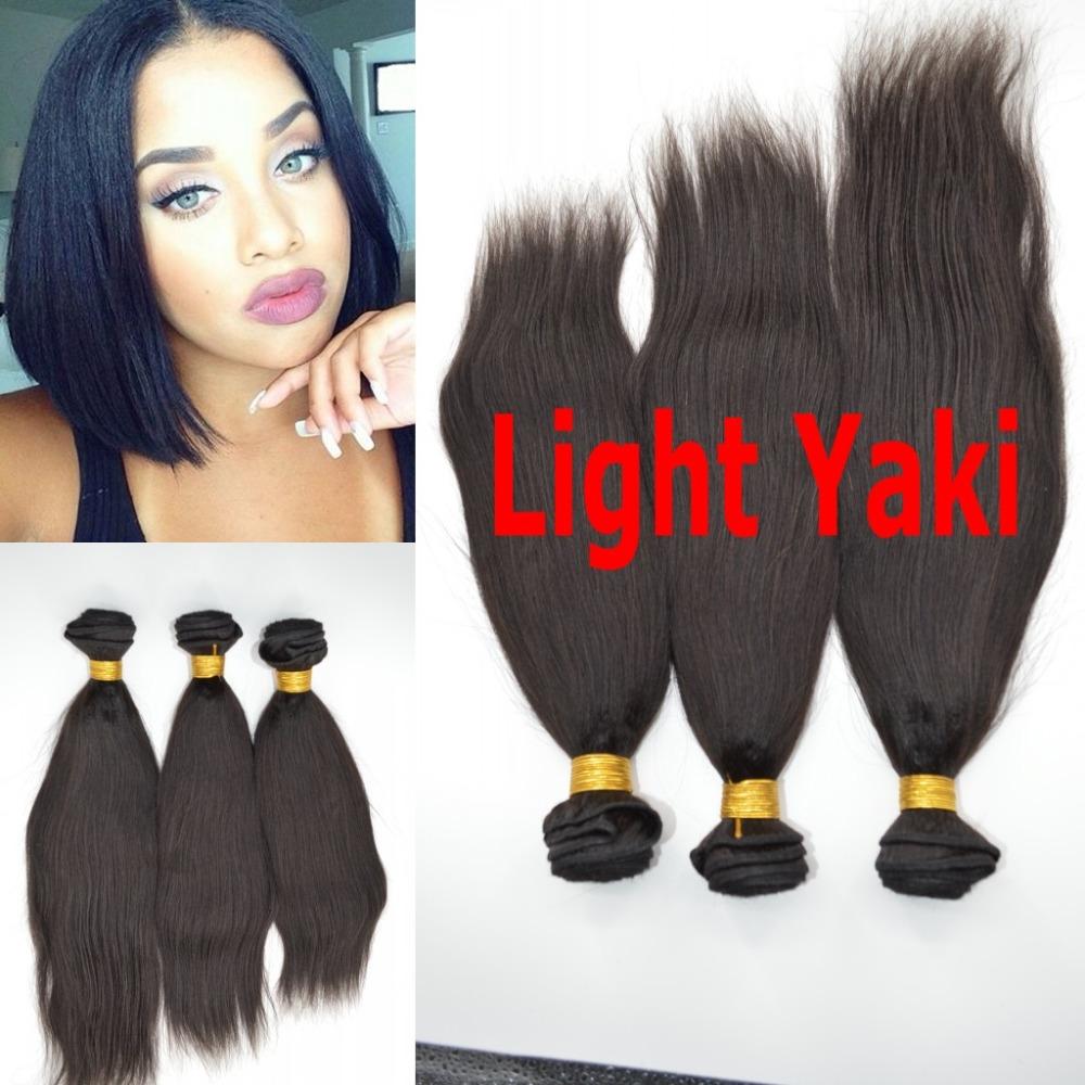 Mongolian Virgin 7a Human Hair Yaki Hair Stra African American